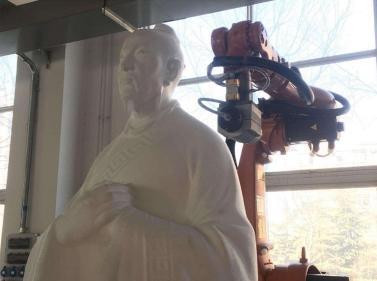 3D古风泡沫雕塑