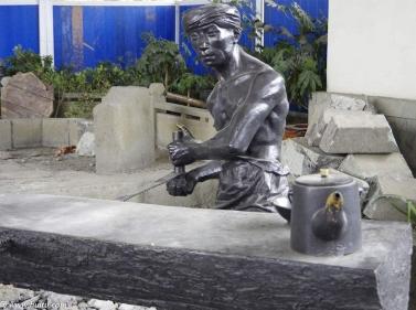 仿石材玻璃钢雕塑